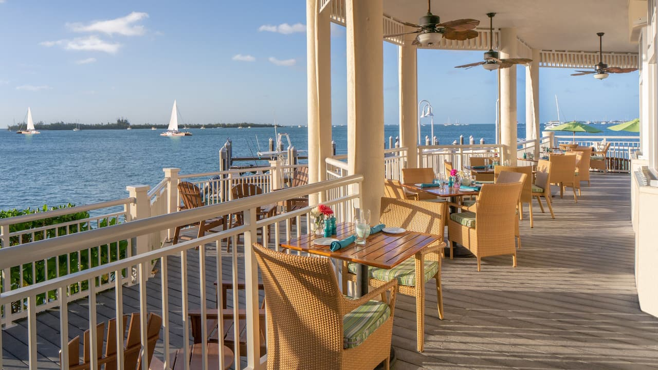 Restaurant Patio at Hyatt Centric Key West