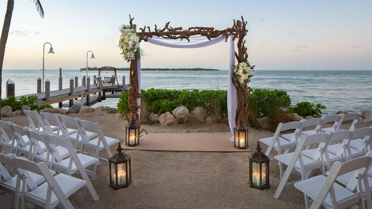 Beach Weddings Hyatt Centric Key West
