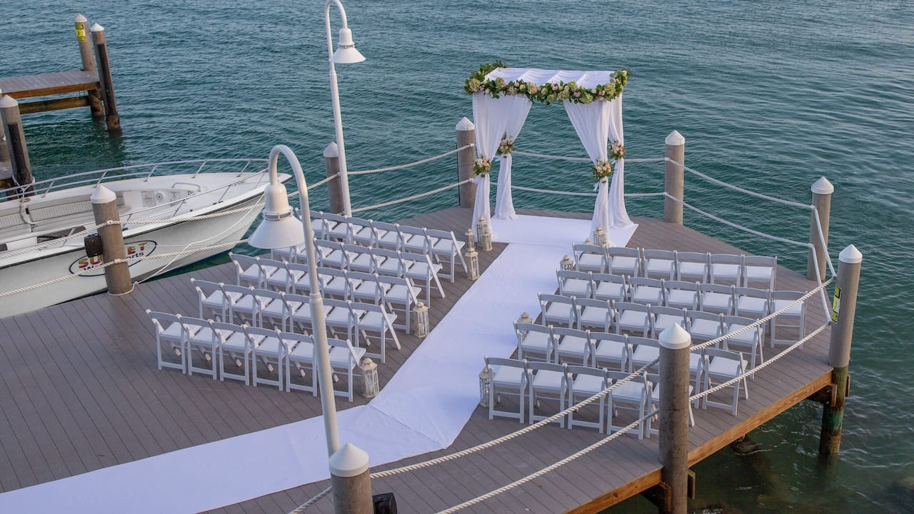 Key West Waterfront Wedding