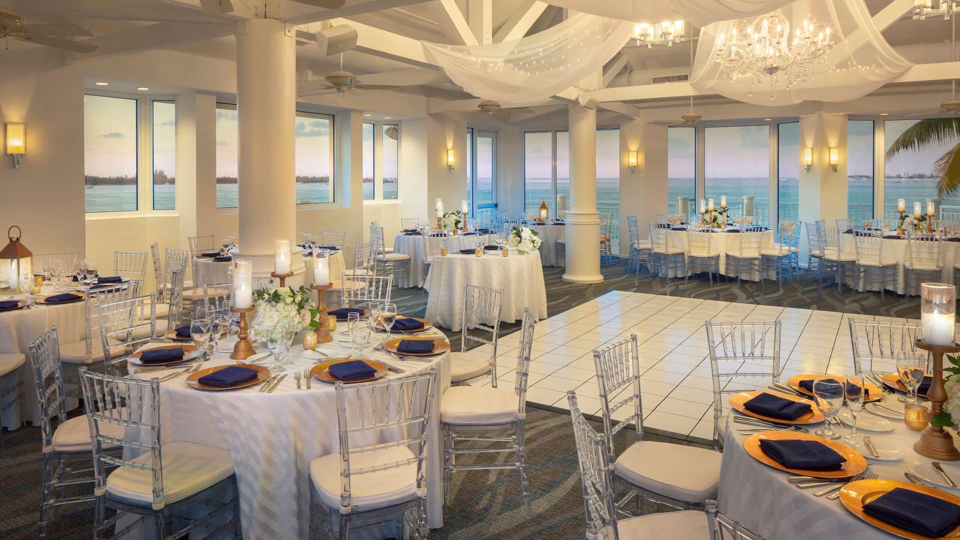 Hyatt Centric Key West Banquet Wedding Setup