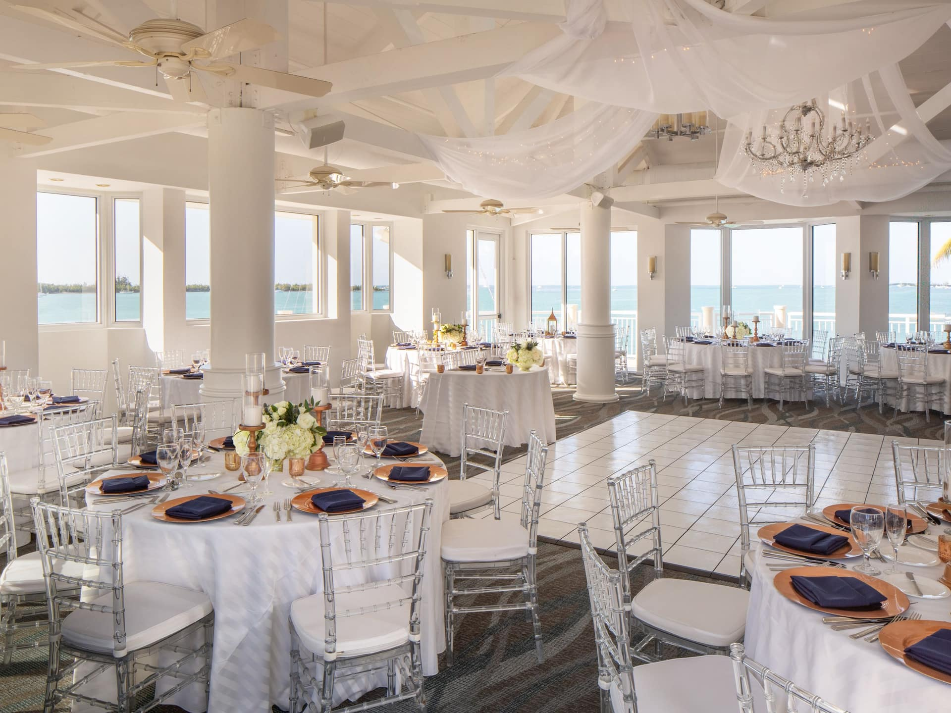 Wedding Setup Hyatt Centric Key West