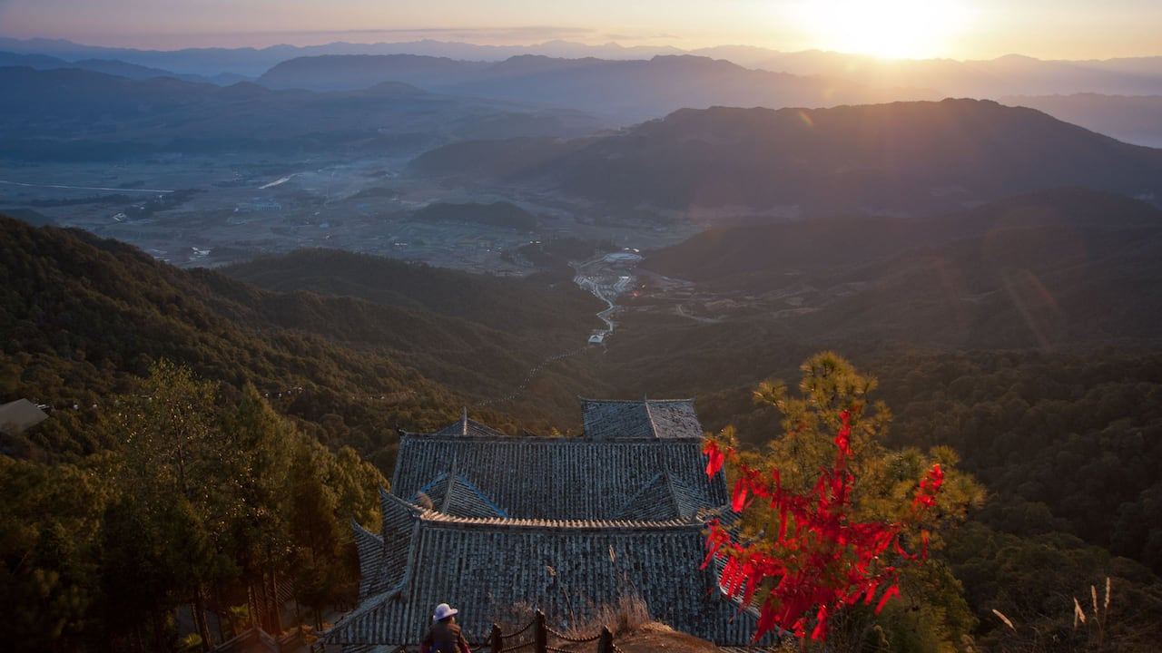 Destination Yunfeng Mountain Dawn