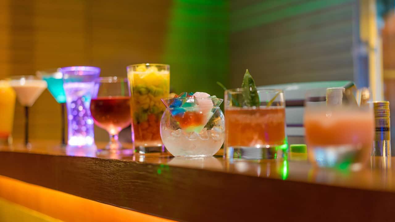 Restaurant Bar Cocktails