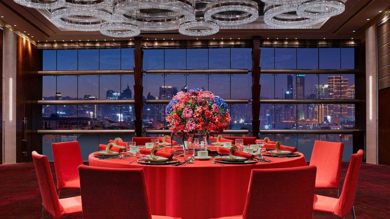 Grand Ballroom Table Set Up