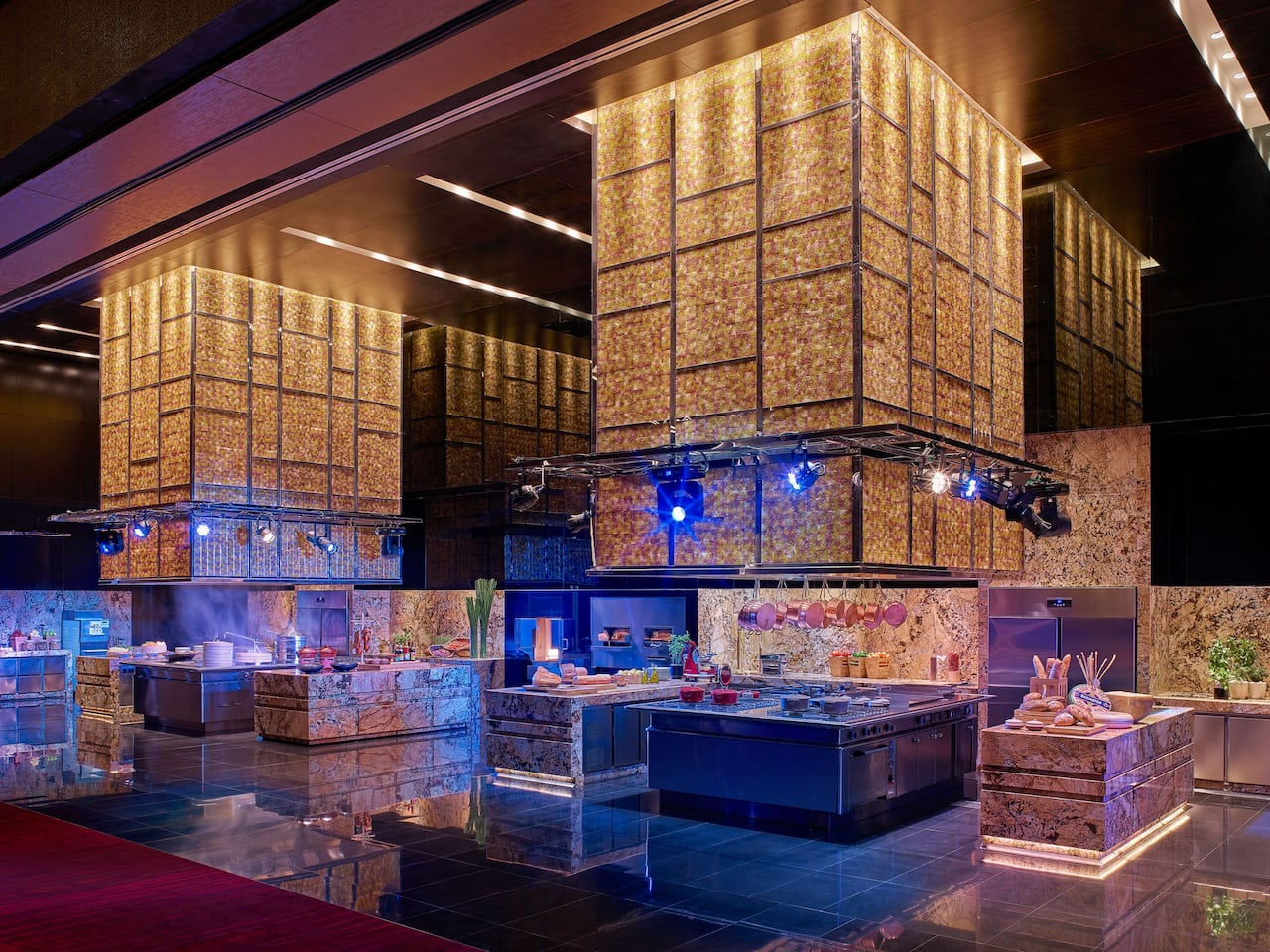 Grand Ballroom Show Kitchen