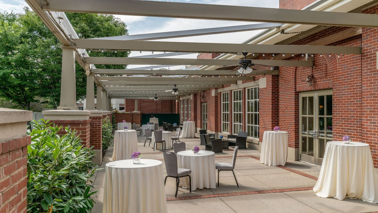 Regency Patio Reception