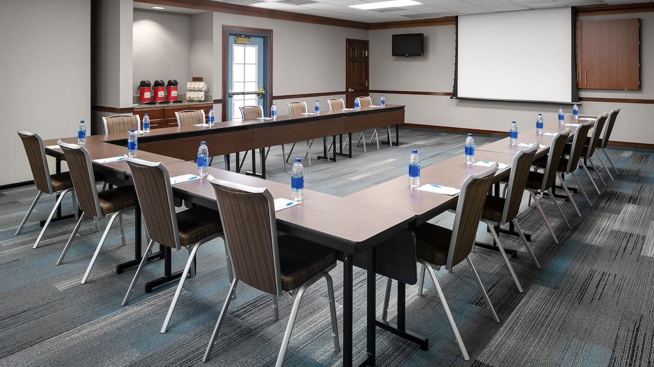 Hyatt House Scottsdale Old Town Meeting Space Classroom Setup