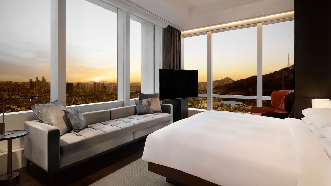 Grand Hyatt Seoul – Ambassador Suite with Spectacular City Views