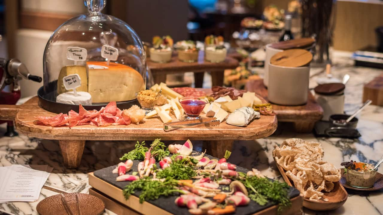 Park Hyatt Washington, D.C. Event and Meeting Catering Cheese & Charcuterie Display