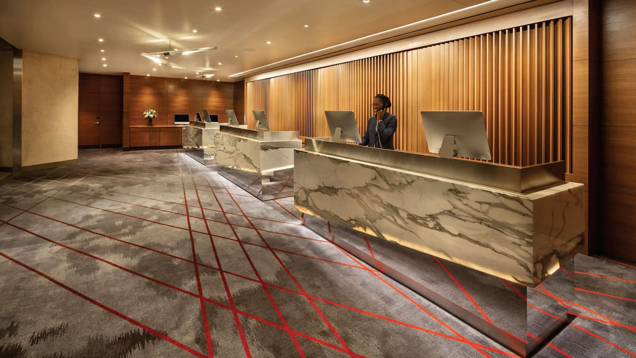 Grand Hyatt San Francisco Front Desk