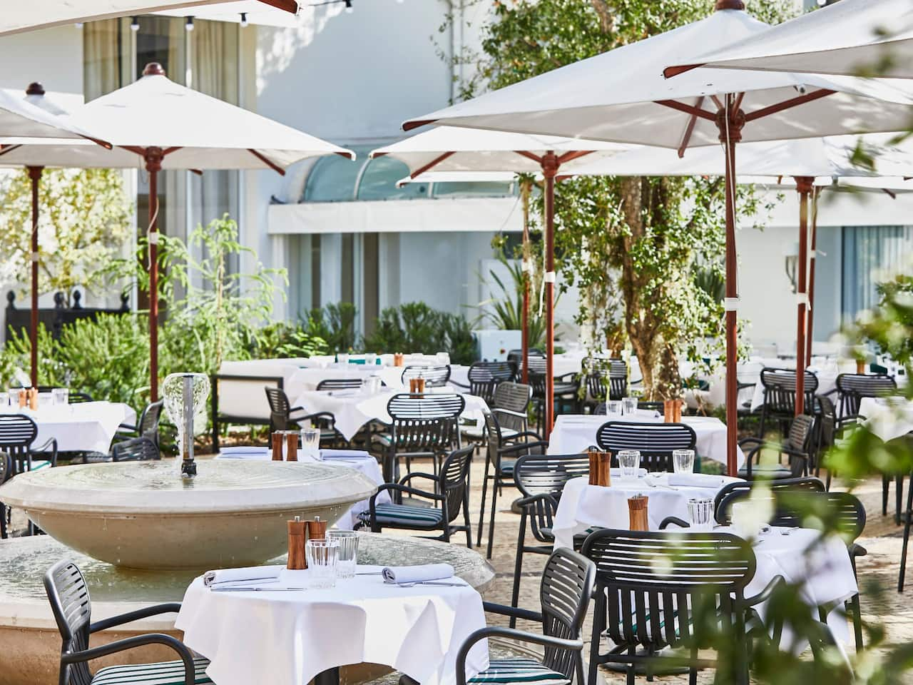 Le Jardin du Martinez at Hôtel Martinez Cannes by Hyatt