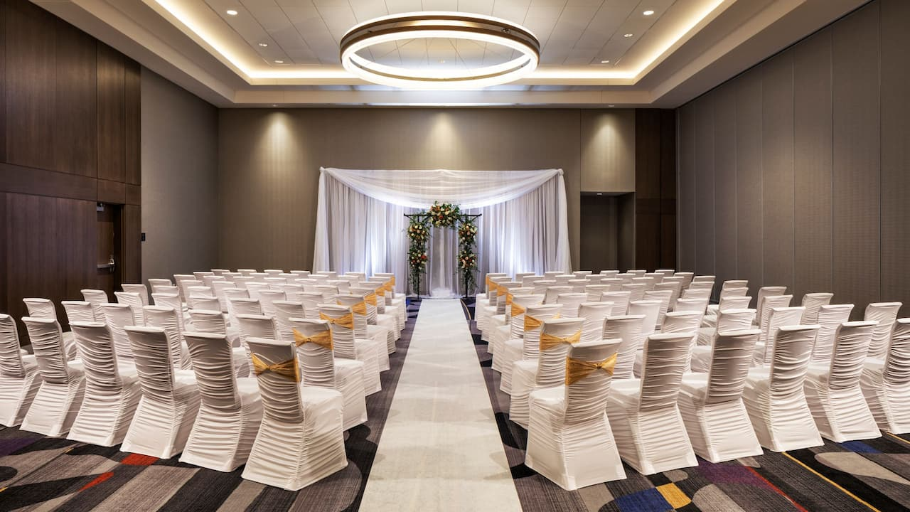 Central Station Grand Ballroom Wedding Ceremony
