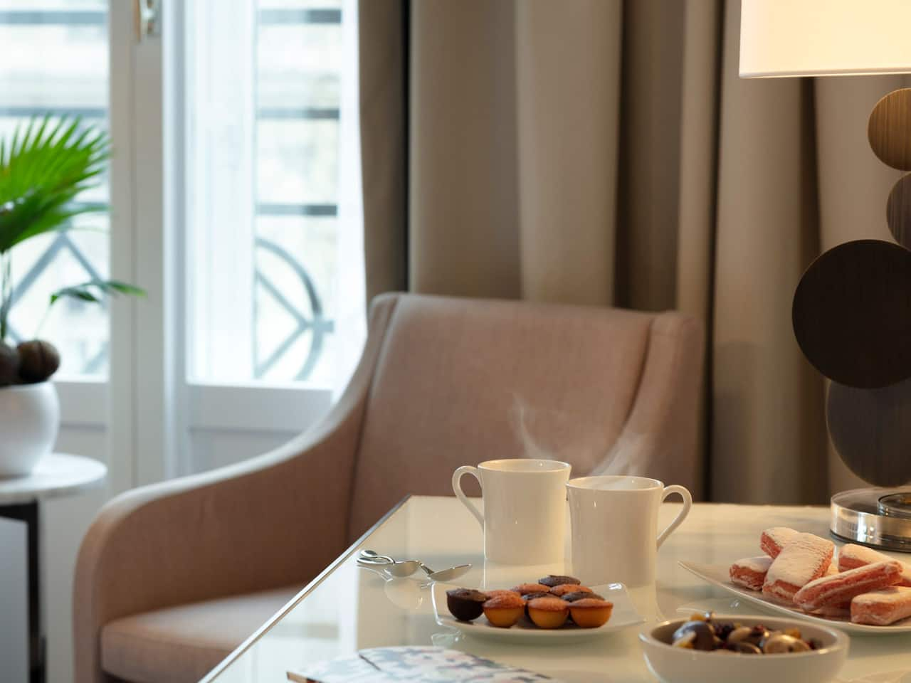 Room service at Hôtel du Louvre by Hyatt in Paris