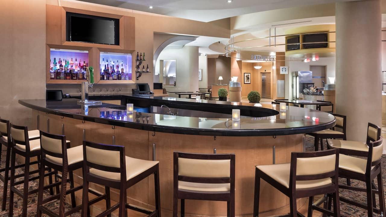 Bar at Hyatt Rosemont