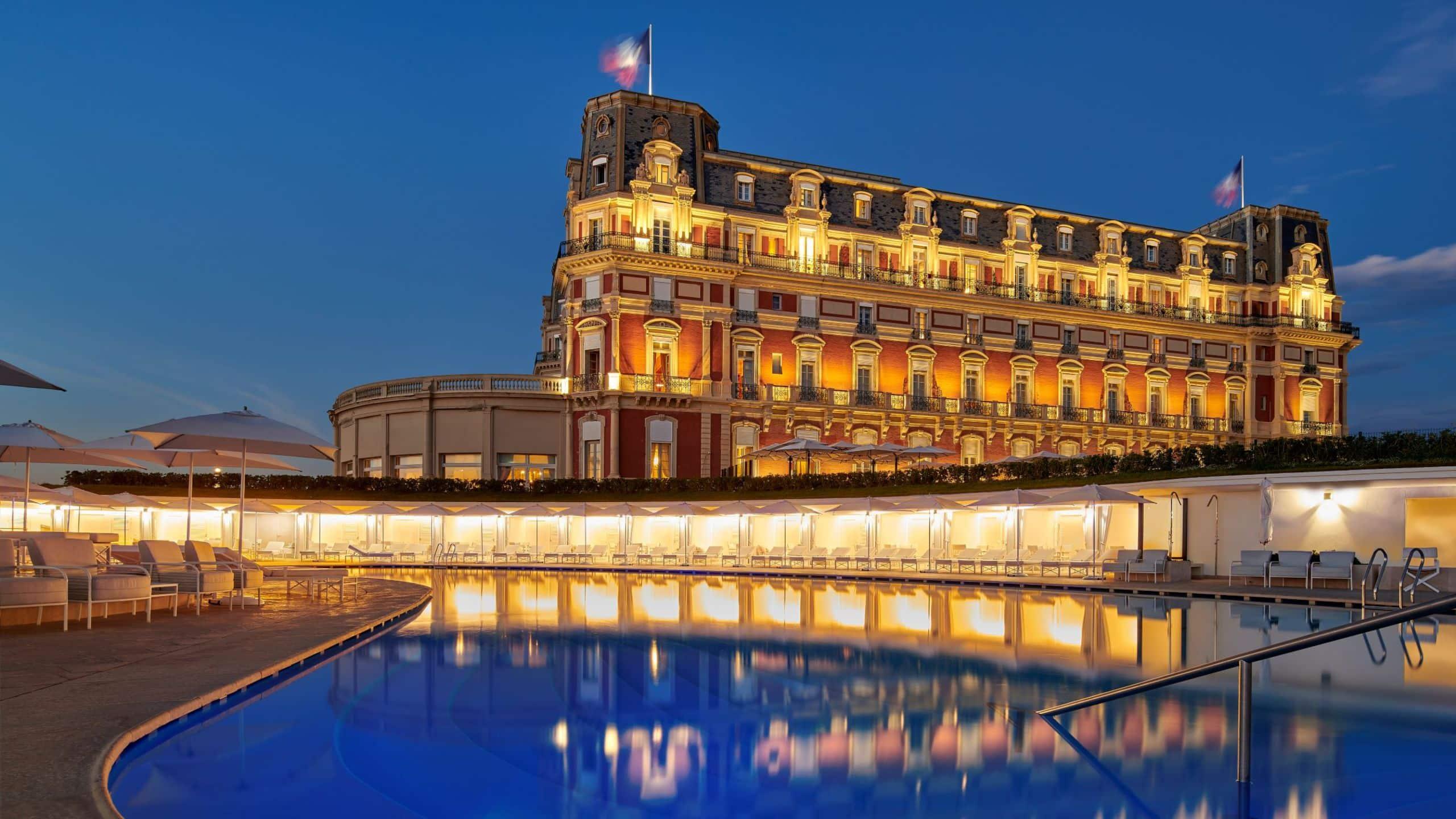 Luxury 5* Hotel overlooking the Sea in Biarritz | Hôtel du ...