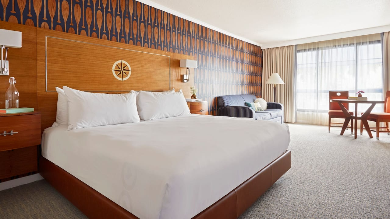 1 King Bed with ADA Shower