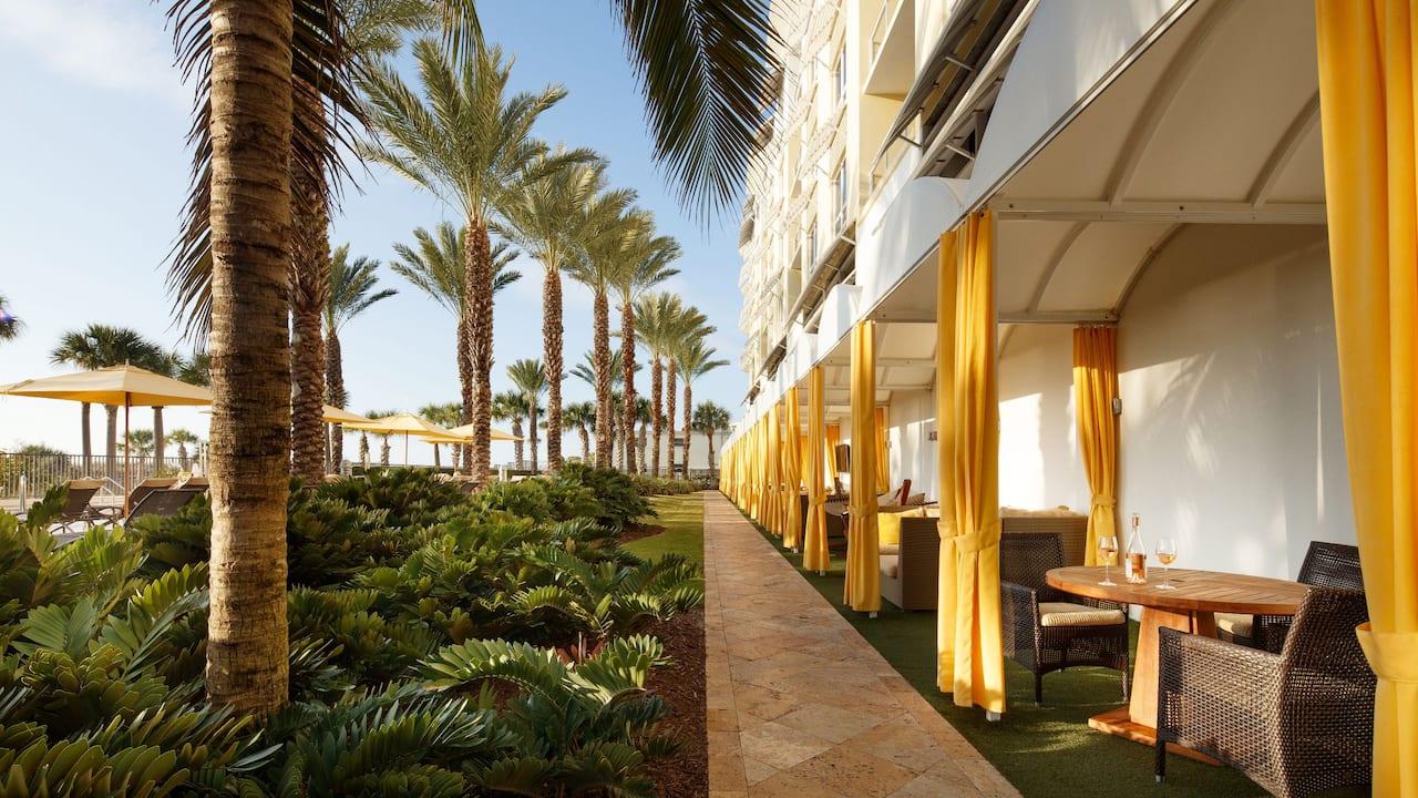 Hyatt Residence Club Siesta Key near Sarasota cabana