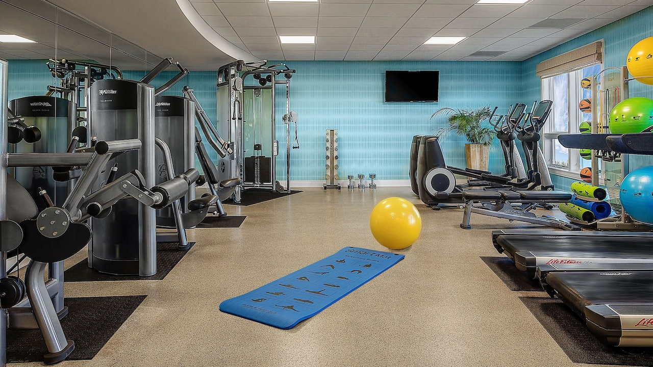 Hyatt Residence Club Sarasota Siesta Key Beach Fitness Center