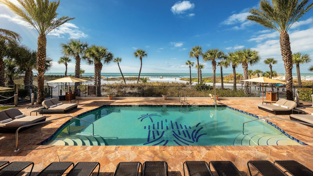 Hyatt Residence Club Sarasota Siesta Key Beach Pool