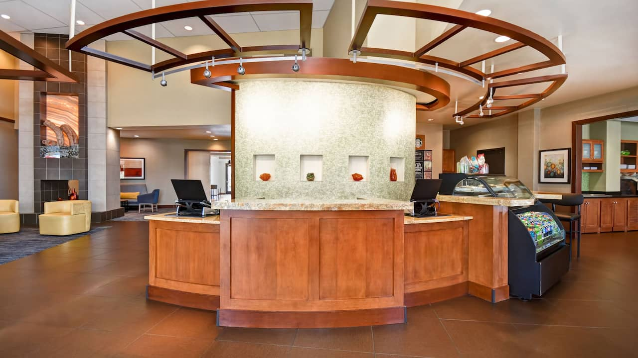 Hyatt Place Phoenix Gilbert Front Desk