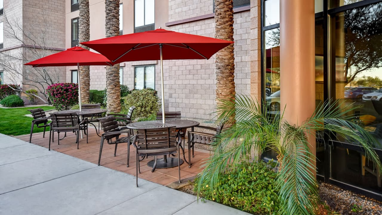 Hyatt Place Phoenix Gilbert Outdoor Area