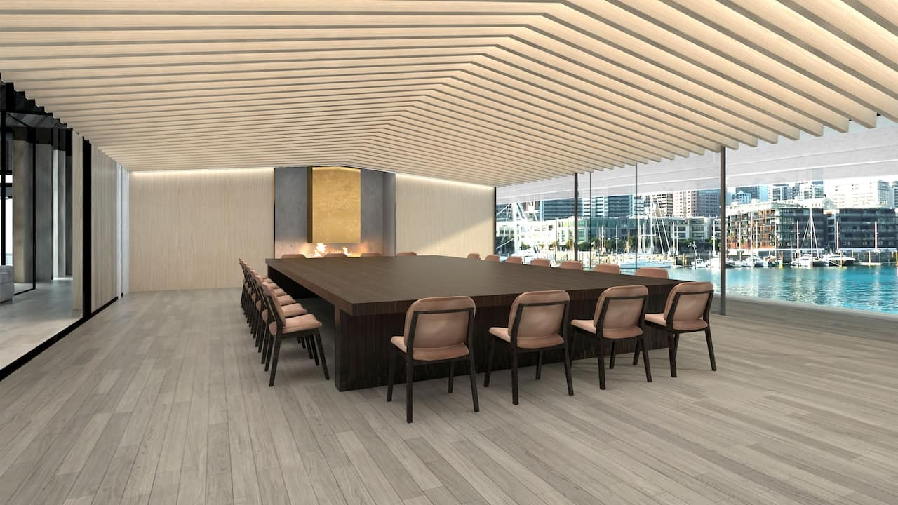 Park Hyatt Auckland Boathouse Meeting Room