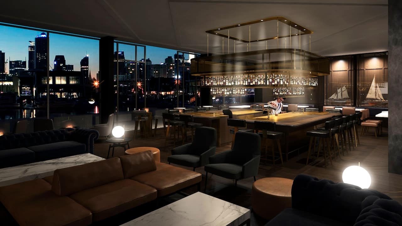 Park Hyatt Auckland Captains Bar