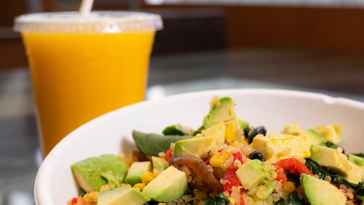 TusCA Vegan Breakfast Scramble at Hyatt Regency Orange County