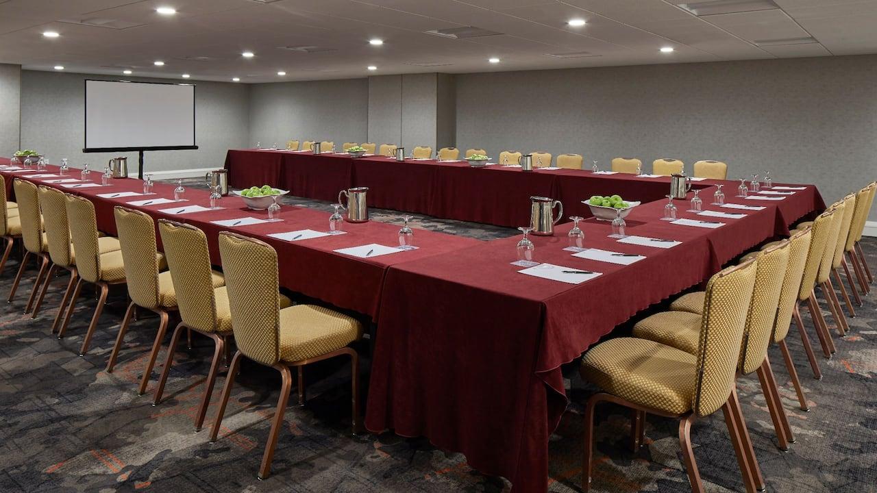 Banquet Luncheon Set-Up Hyatt Regency Atlanta