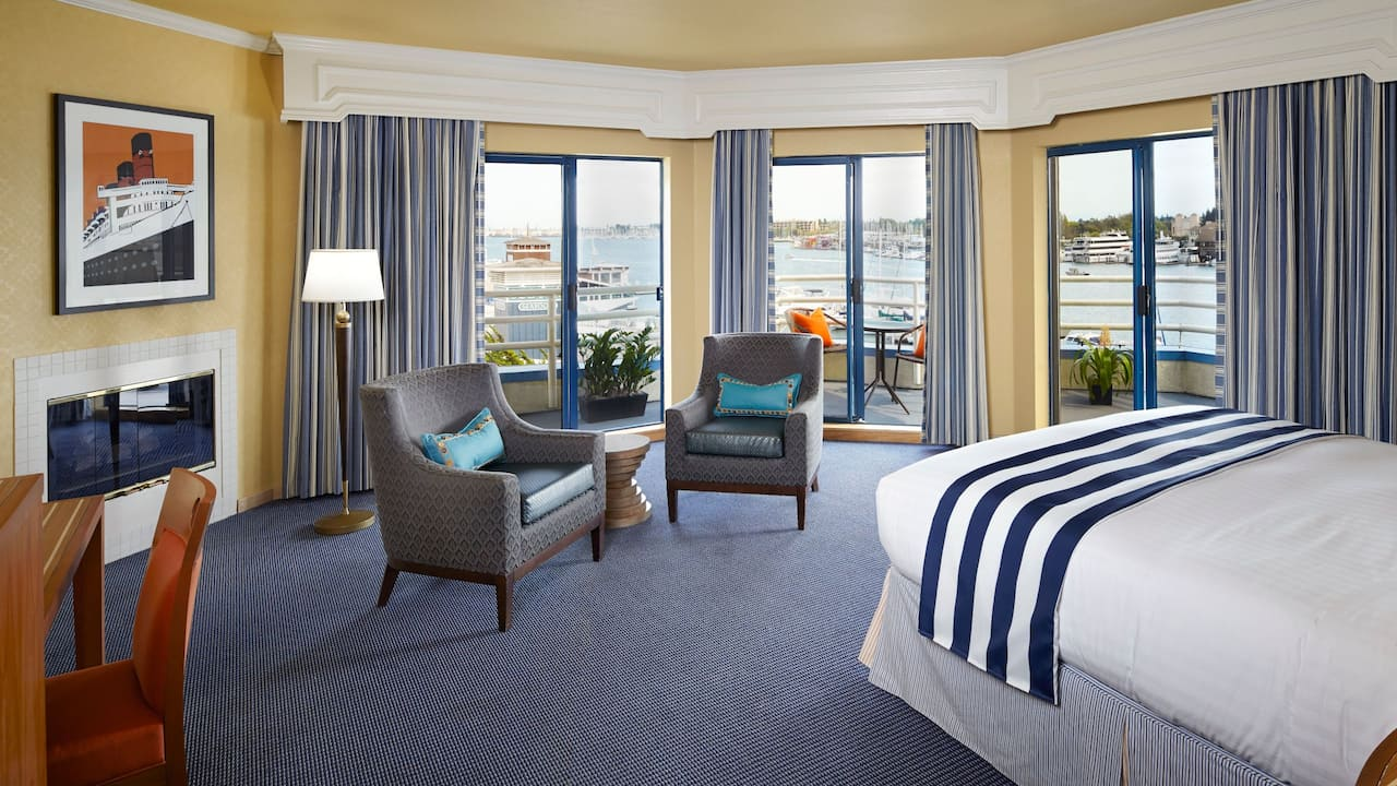 Waterfront Bay Suite