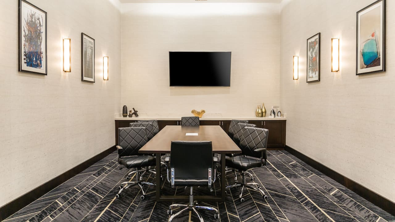 boardroom hyatt place greenville