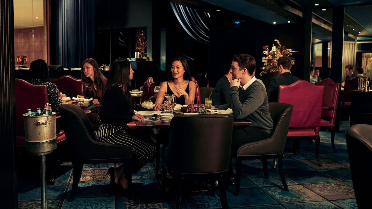 Leisure Travelers Group Dining Restaurant