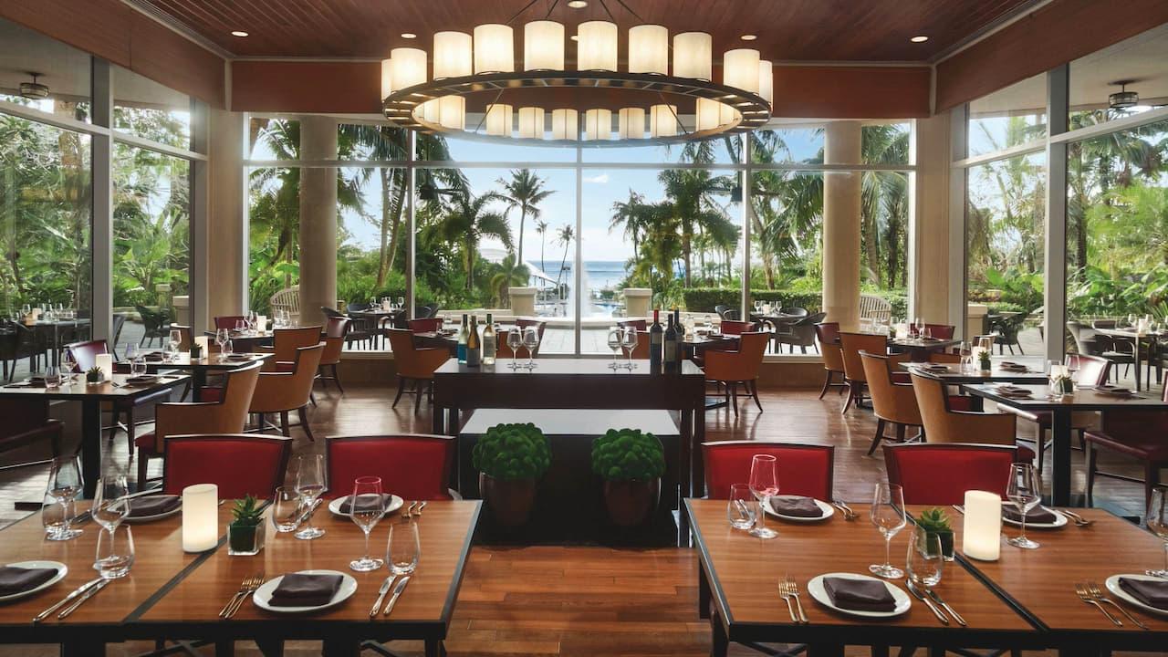 Cafe Kitchen resort view