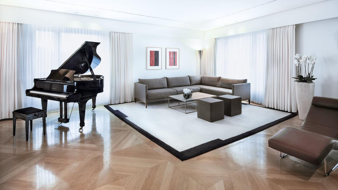 Maybach Suite at Grand Hyatt Berlin