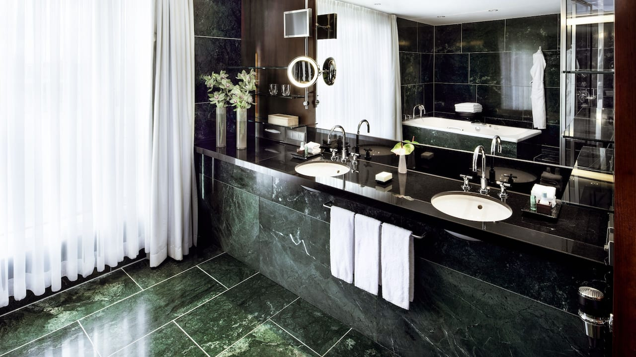 Bathroom Maybach Suite at Grand Hyatt Berlin