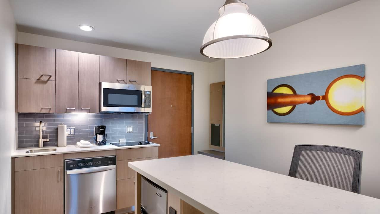 Hotel Guest Room Studio Kitchen