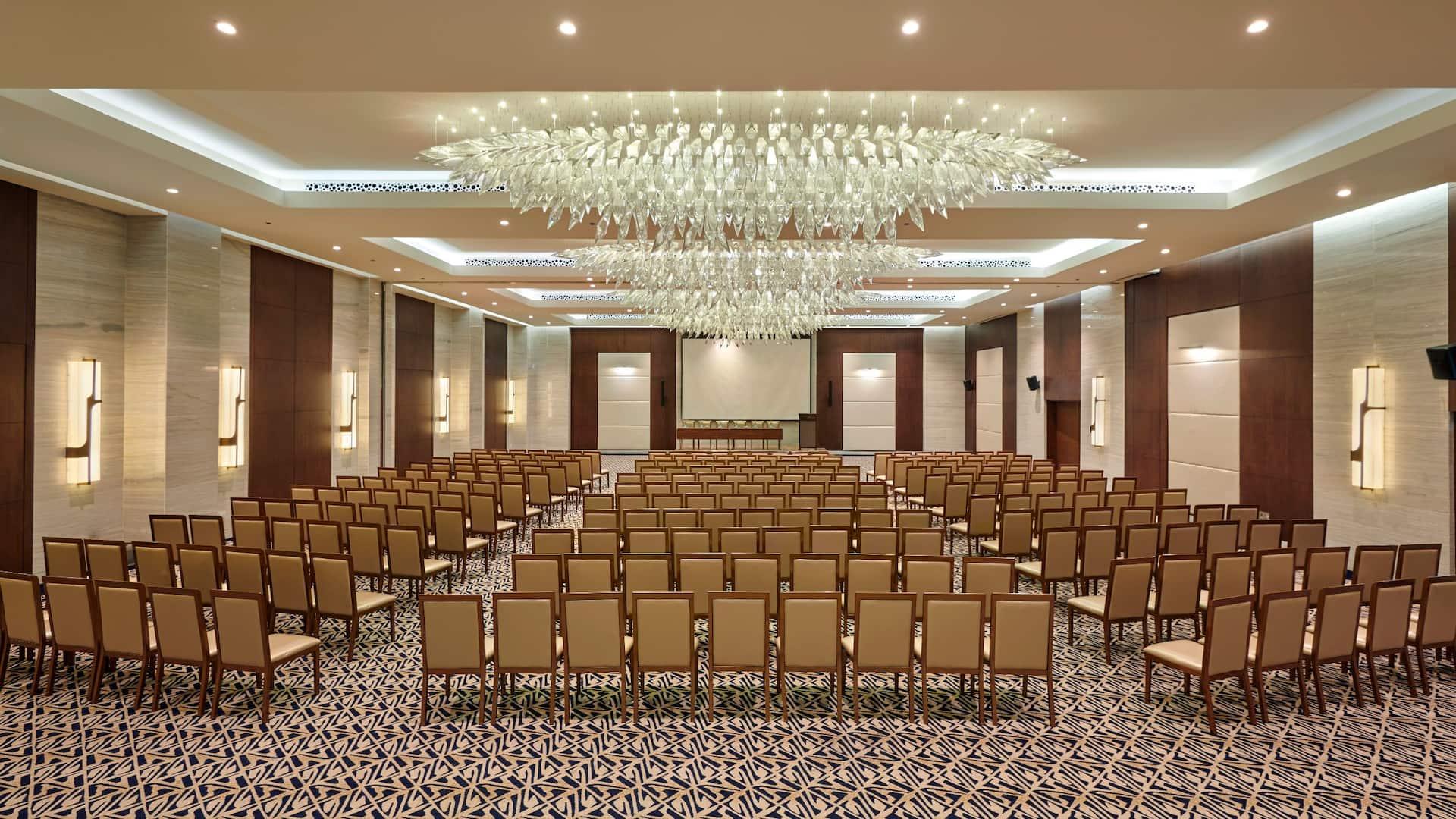 ADDRA Ballroom set up