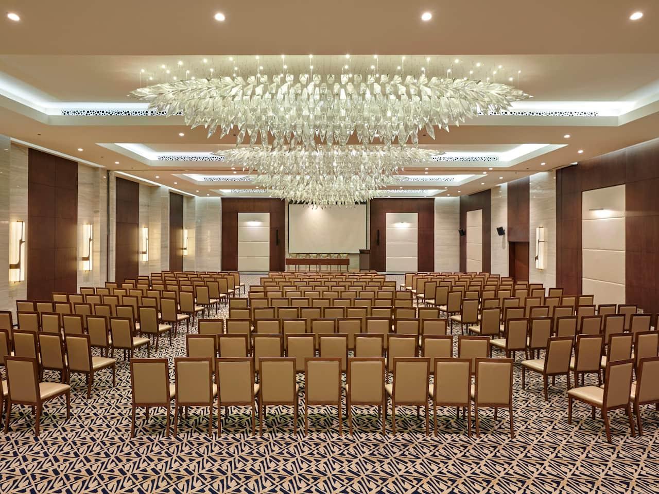Hyatt Regency Ballroom Setup