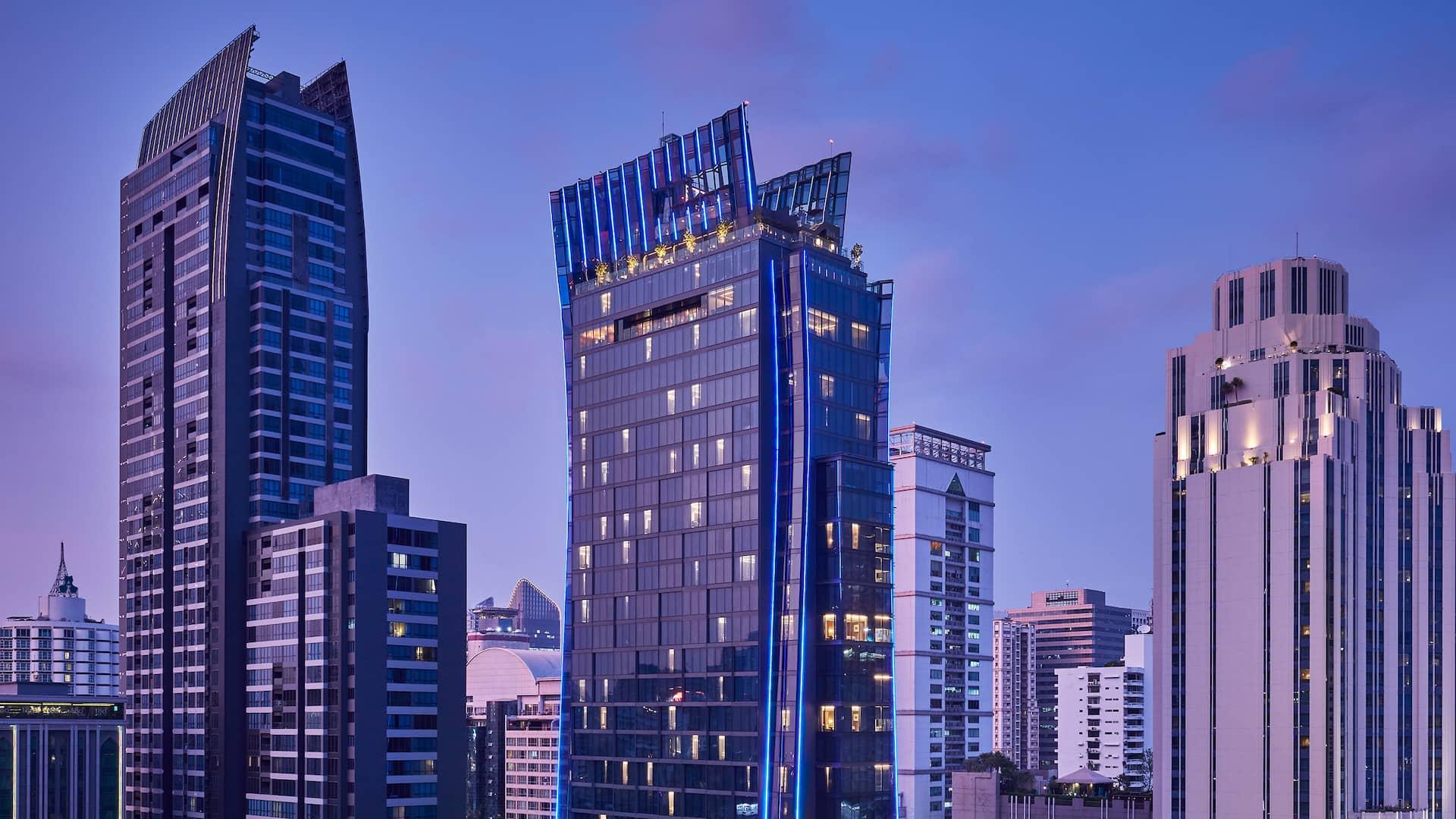 Hyatt Regency Bangkok Sukhumvit hotel exterior