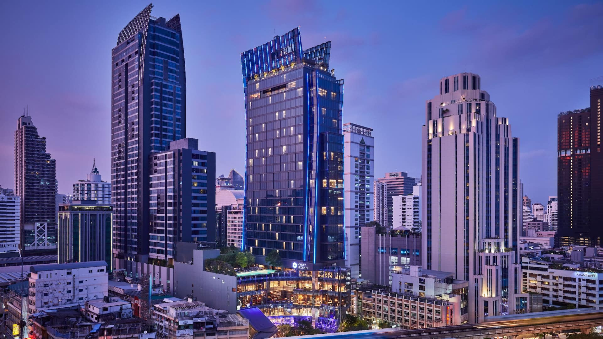Hyatt Regency Bangkok Sukhumvit with Direct Accesss to BTS Sky train | Nana Station