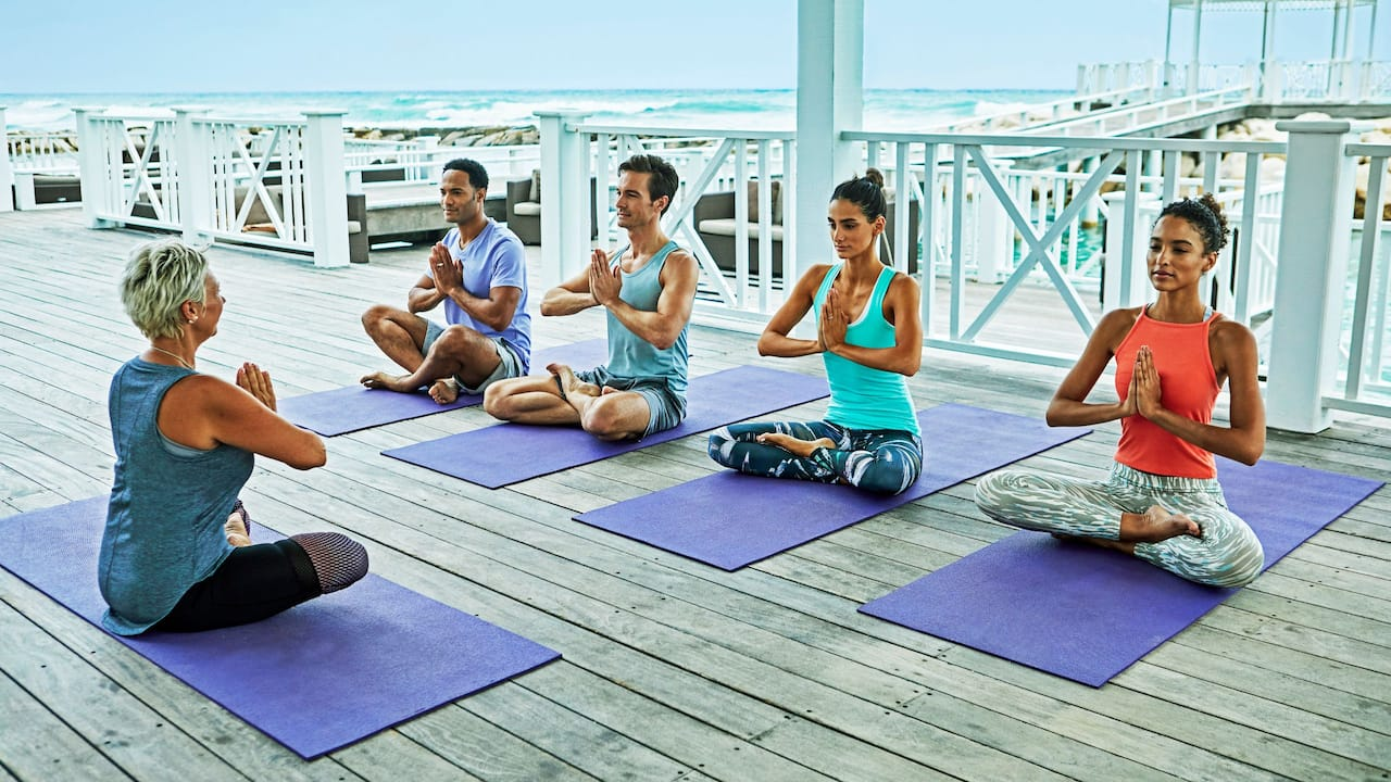 Hyatt Zilara Rose Hall | Yoga Class