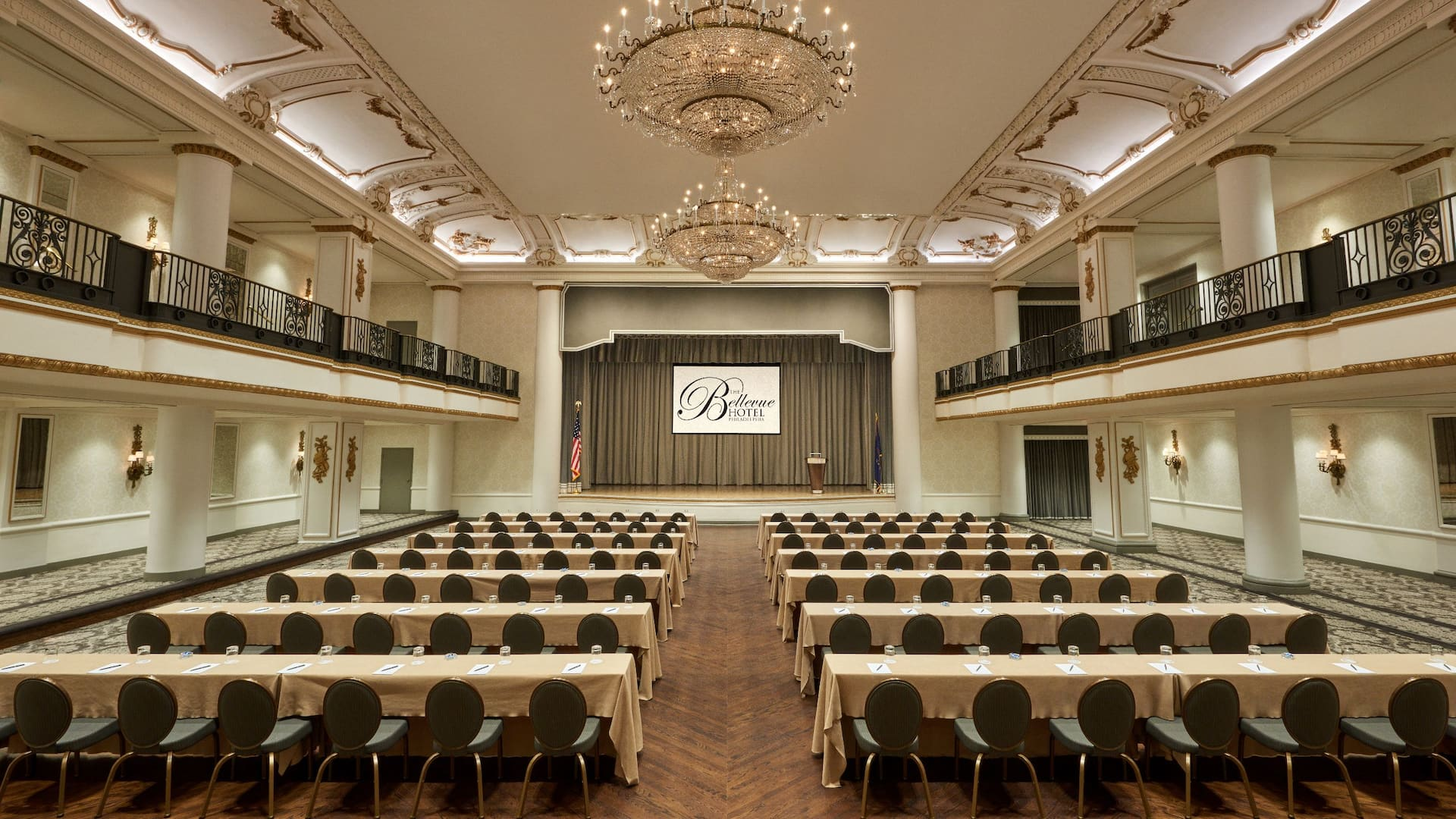Conference venue at The Bellevue Hotel