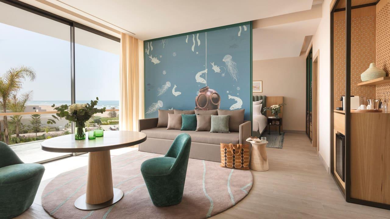 Hyatt Regency Taghazout living room