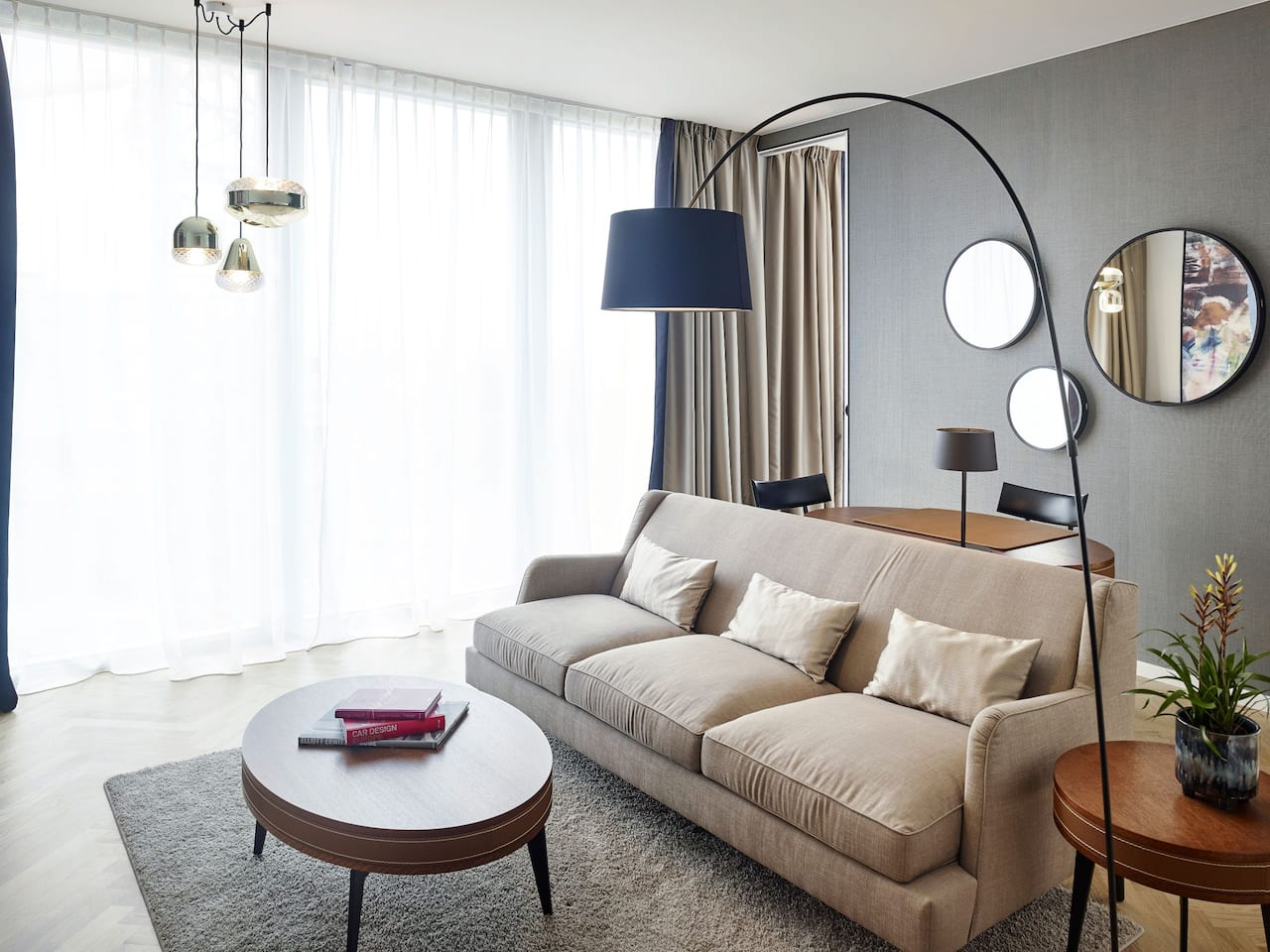 Andaz Vienna Park Suite Living Room
