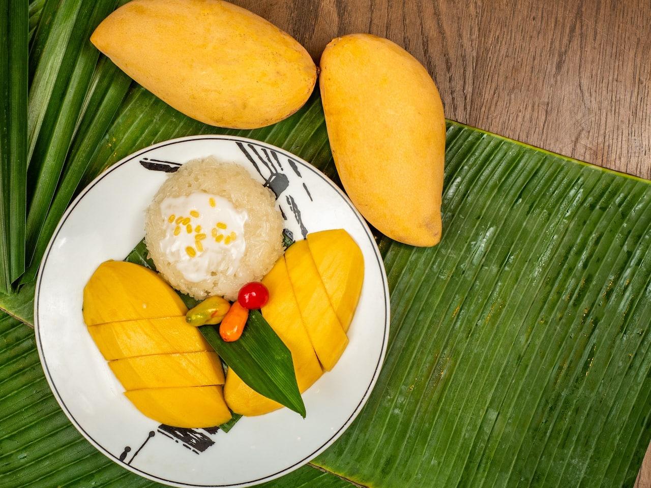Mango Sticky Rice - Grand Hyatt Erawan Bangkok