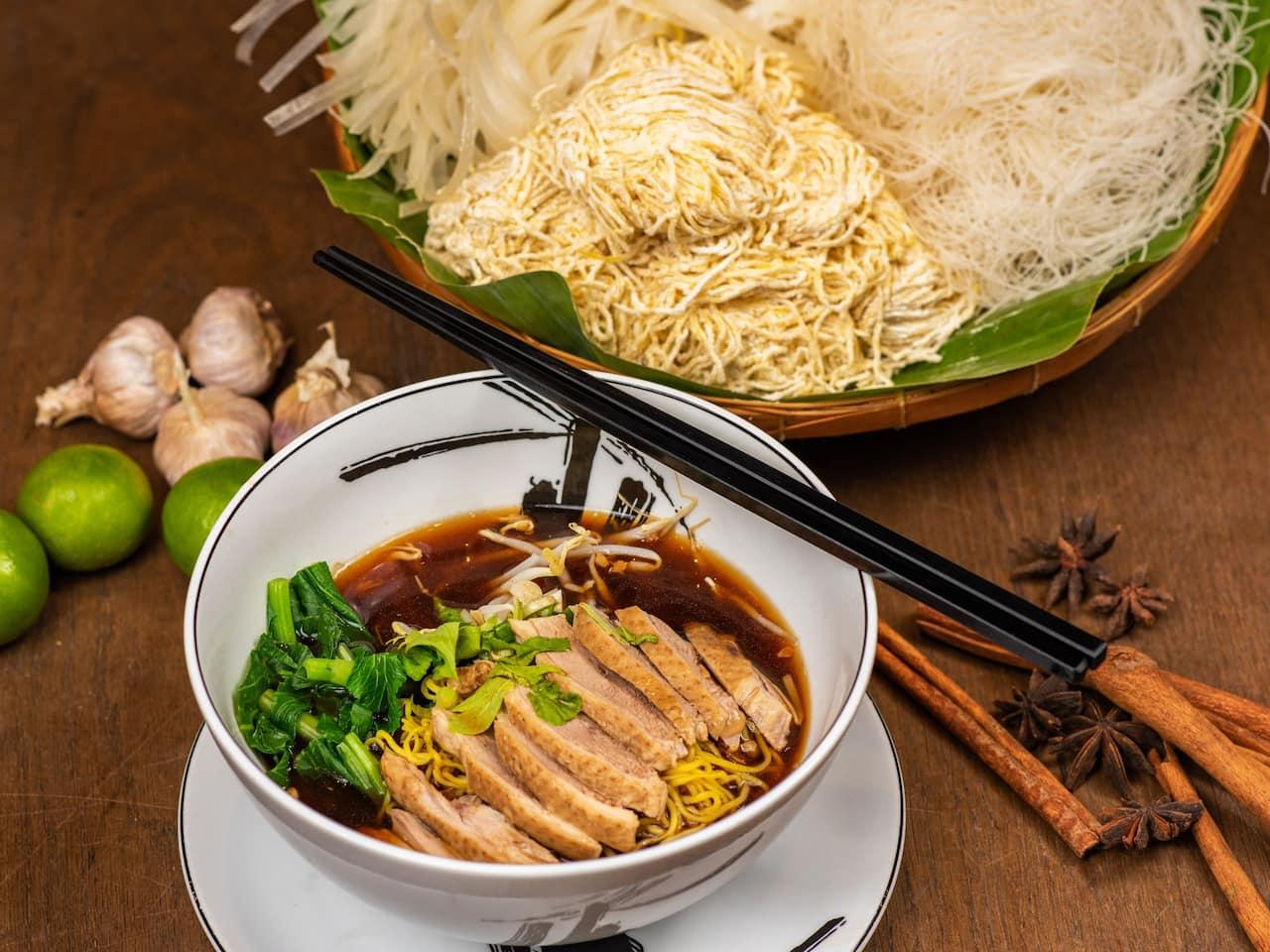 Duck Noodle - Grand Hyatt Erawan Bangkok