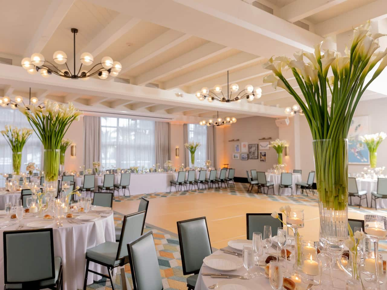 Wedding Ballroom at The Confidante Miami Beach