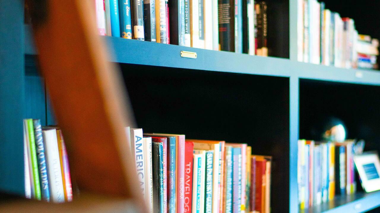 Lobby Bookcase
