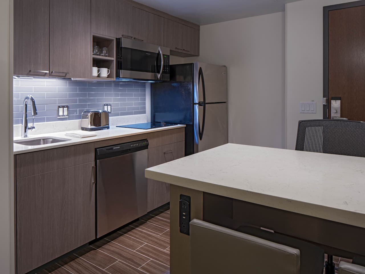 Hyatt House Studio Suite Kitchen