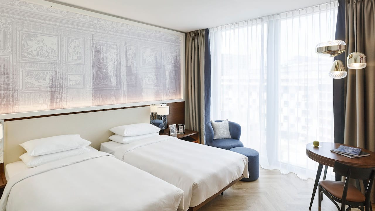 Andaz Vienna Am Belvedere 2 Twin Beds